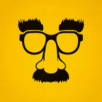Groucho mask - nerd glasses von badbugsart