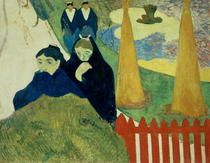 Die alten Frauen von Arles von Paul Gauguin