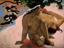 Bist Du eifersüchtig? von Paul Gauguin