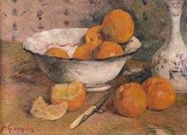 Stillleben mit Orangen von Paul Gauguin
