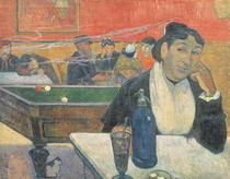 Cafe at Arles by Paul Gauguin