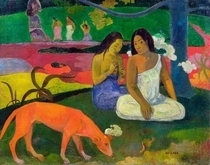 Arearea (The Red Dog) by Paul Gauguin