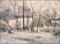 Winter Landscape by Paul Gauguin