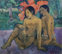 And the Gold of their Bodies by Paul Gauguin