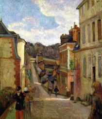 Vorortstrasse von Paul Gauguin