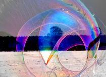 Große Seifenblasen schwebend - Giant Bubbles gliding 56 by Eddie Scott