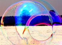 Große Seifenblasen schwebend - Giant Bubbles gliding 4 von Eddie Scott