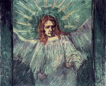 Head of an Angel, after Rembrandt by Vincent Van Gogh