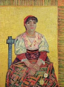 The Italian: Agostina Segatori by Vincent Van Gogh