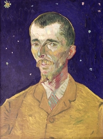 Portrait of Eugene Boch by Vincent Van Gogh