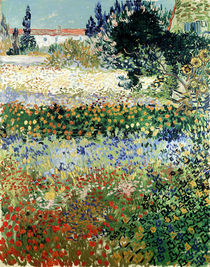 Garten in Bloom, Arles von Vincent Van Gogh