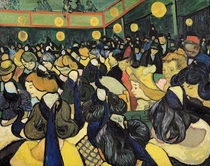 The Dance Hall at Arles by Vincent Van Gogh