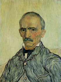 Portrait of Superintendant Trabuc in St. Paul`s Hospital by Vincent Van Gogh