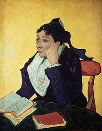L`Arlesienne (Madame Ginoux) by Vincent Van Gogh