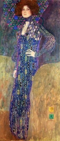 Emilie Floege von Gustav Klimt