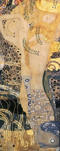 Wasserschlangen von Gustav Klimt