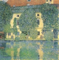 The Schloss Kammer on the Attersee III by Gustav Klimt