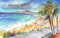 Puerto Carmen Beach by Miki de Goodaboom