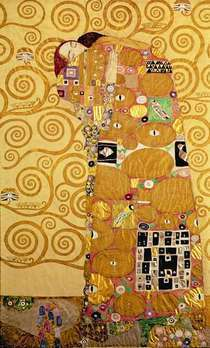 Fulfilment (Stoclet Frieze)  by Gustav Klimt