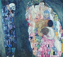 Death and Life, c.1911 (oil on canvas)  by Gustav Klimt