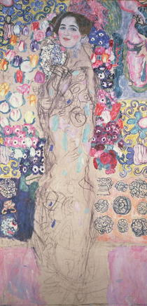 Portrait of Maria Munk by Gustav Klimt