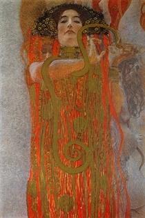 Hygieia von Gustav Klimt
