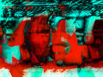 Red face von Gabi Hampe
