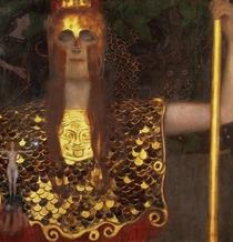 Minerva oder pallas Athene von Gustav Klimt