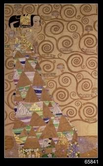 Die Erwartung von Gustav Klimt