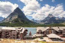 Many Glacier Hotel by John Bailey