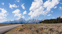 Drive to the Grand Tetons by John Bailey