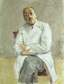 The Surgeon, Ferdinand Sauerbruch by Max Liebermann