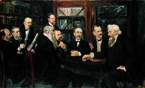 The Hamburg Convention of Professors von Max Liebermann