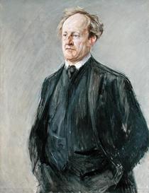 Gerhart Hauptmann by Max Liebermann