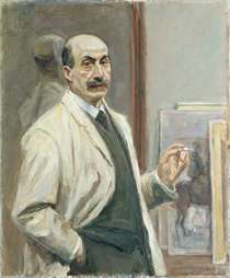 Self Portrait by Max Liebermann