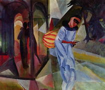 Pierrot von August Macke
