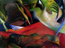 The Storm by August Macke
