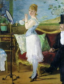 Nana by Edouard Manet
