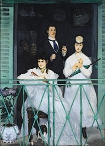 Der Balkon von Edouard Manet