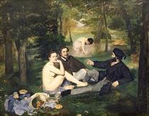 Dejeuner sur l`Herbe by Edouard Manet