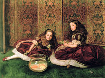 Leisure Hours by Sir John Everett Millais
