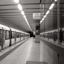 U-Bahn-Station - Schillingstrasse - Berlin by captainsilva