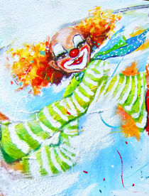 Clown Tobi by Barbara Tolnay
