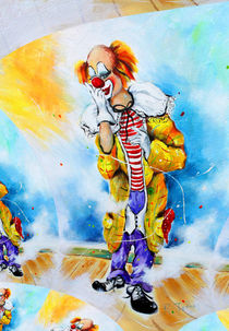 Clown Jerome 2 by Barbara Tolnay