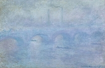 Waterloo Bridge: Effect of the Mist by Claude Monet