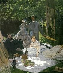 Frühstück im Grünen von Claude Monet