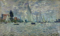 Regatta in Argenteuil von Claude Monet