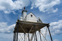 Gloucester Harbor Beacon Station by John Bailey