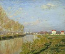 Die Seine bei Argenteuil von Claude Monet