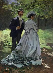 Die Spaziergänger von Claude Monet